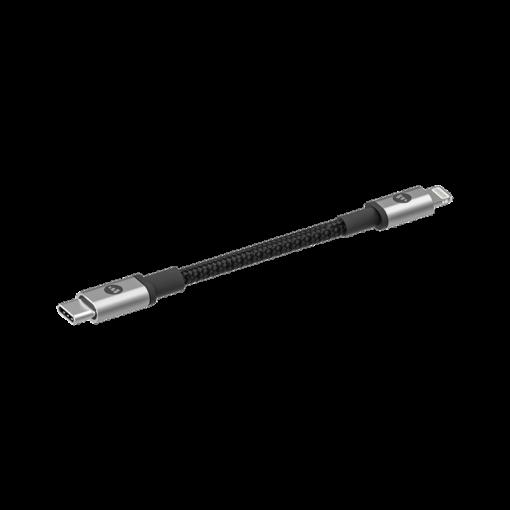 1239201913939 Cable USB C to Lighting 1.8m black