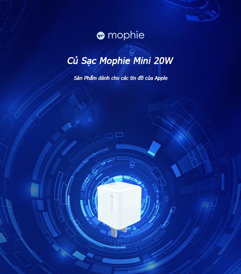Củ sạc Mophie Mini 20W